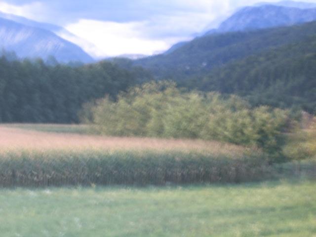 © Renate Egger. Landschaft/Landscape, 2007. Series: Spiegelung/Reflection.