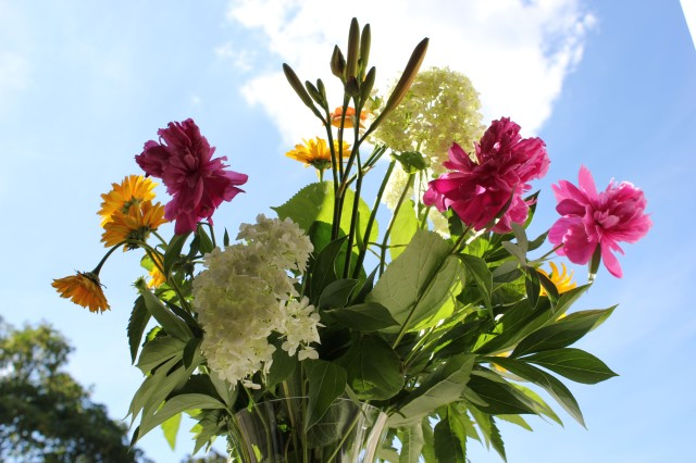 © Renate Egger. Blumenstrauß/Bunch of flowers, 2012. Fotografie/Photography