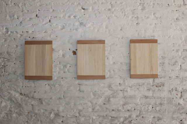 © Renate Egger. Holzplatten/Wooden plates, 1988-1992. Artfarm Pilastro. Pilastro di Bonavigo (VR), Italy, 2012