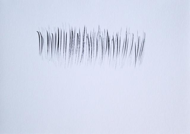 © Renate Egger. Strukturen/Structures IV, 2011. Chinesische Tusche auf Papier/Chinese ink on paper, 24x34 cm