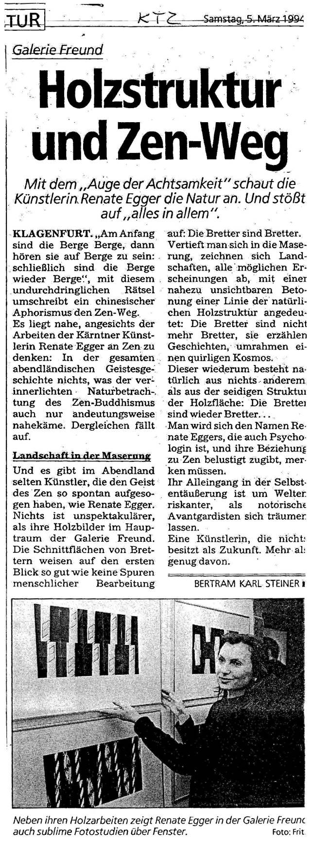 Renate Egger- Bertram Karl Steiner
