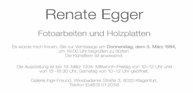 Renate Egger-Inge Freund Einl 1
