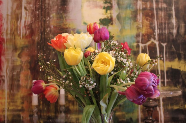 © Renate Egger. Tulpenstrauß /Bouquet of tulips, 2014