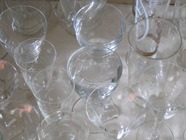 © Renate Egger. Gläser/Glasses, 2006.