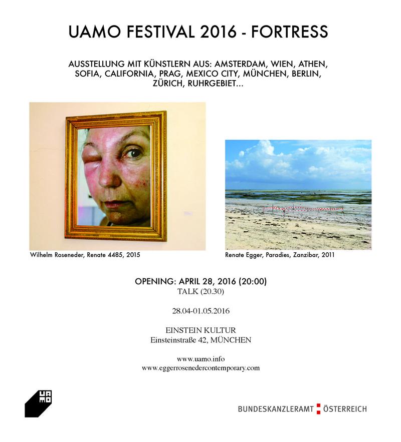 Uamo Festival 2016. Fortress. Munich, Germany
